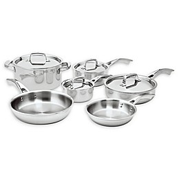 Zwilling® J.A. Henckels Truclad 10-Piece Stainless Steel Cookware Set