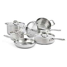 Zwilling® J.A. Henckels Sol II Stainless Steel 10-Piece Cookware Set