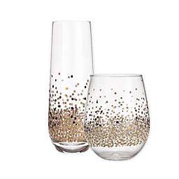Table Art Confetti Wine Glass Collection