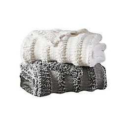 Madison Park Nora Chenille Throw Blanket