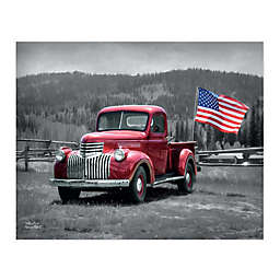 Courtside Market™American Made II 30-Inch x 40-Inch Canvas Wall Art