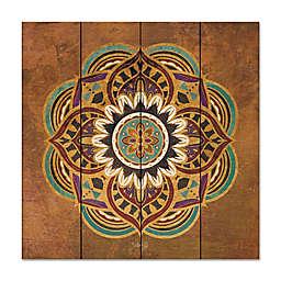 Courtside Market™ Boho Medallion II 12-Inch Square Wood Wall Art