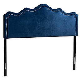 Baxton Studio Totty Velvet Upholstered Headboard