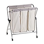 Real Simple® Triple Laundry Sorter