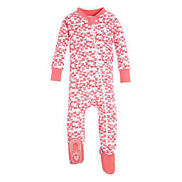 Burt's Bees Baby® Butterfly Escape Footed Pajama in Pink