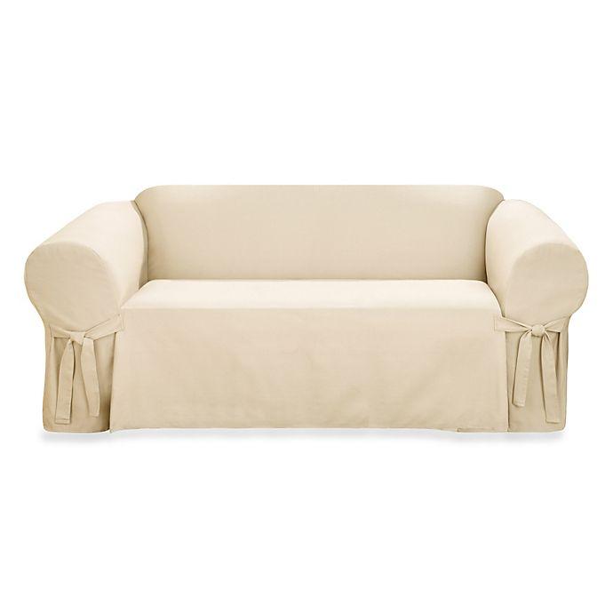 Sure Fit Logan 1 Piece Sofa Slipcover