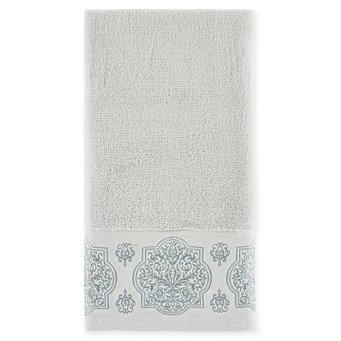 Alternate image 1 for J. Queen New York™ Corina Hand Towel in Spa
