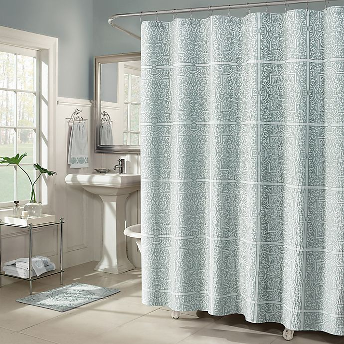 Alternate image 1 for J. Queen New York™ Corina Shower Curtain Collection