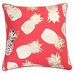 Saugus Pineapple Square Throw Pillow
