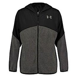 Under Armour® North Rim Fleece Jacket in Black