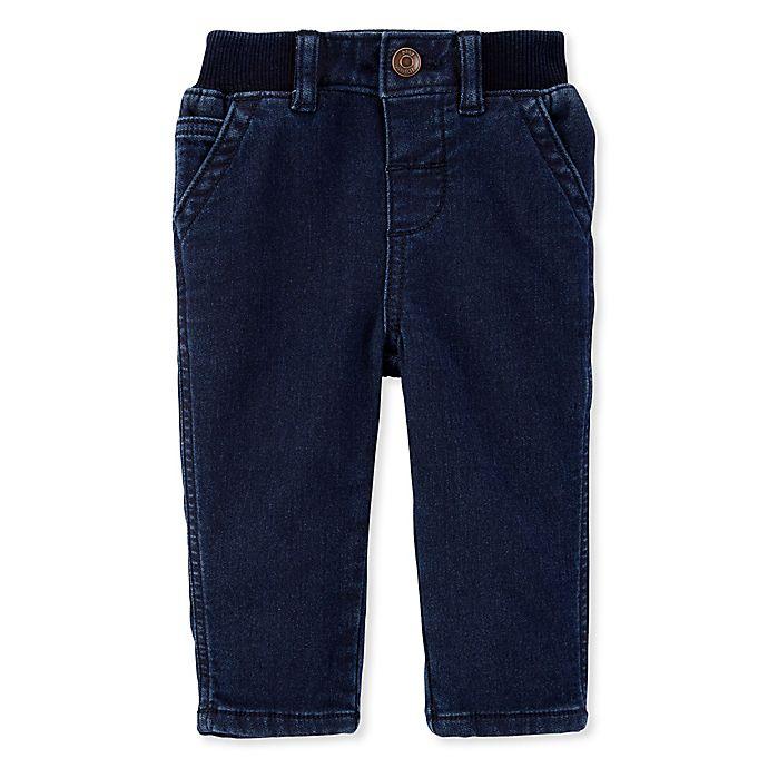 Alternate image 1 for OshKosh B'gosh® Carpenter Jeans in Denim