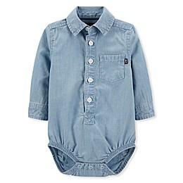 OshKosh B'gosh® Chambray Bodysuit in Denim