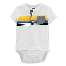 OshKosh B'gosh® Chest Stripe Bodysuit