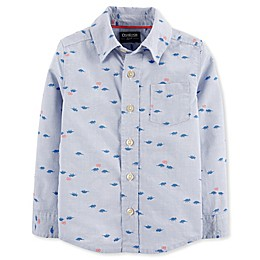 OshKosh B'gosh® Toddler Woven Dino Print Shirt