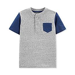 OshKosh B'gosh® Henley Toddler Shirt in Grey