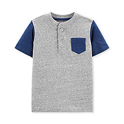 OshKosh B'gosh® Henley Toddler Shirt in Grey