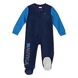 Nautica® Color Block Footie in Blue