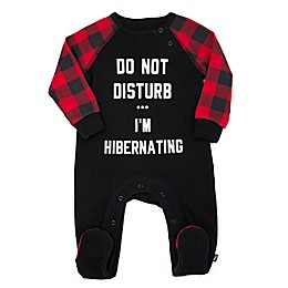 Mini Heroes™ 2-Piece Do Not Disturb Footie and Bandana Set in Black