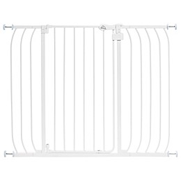 HOMESAFE™ by Summer Infant® Multi-Use Extra Tall Walk-Thru Gate in White