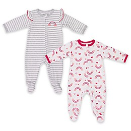 Vitamins Baby 2-Pack Rainbow Footies
