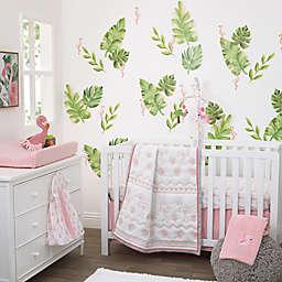 NoJo® Tropical Flamingo 4-Piece Crib Bedding Set in Pink