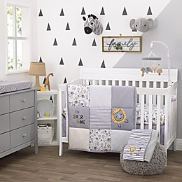 Roarsome Lion 3pc Crib Bedding Set