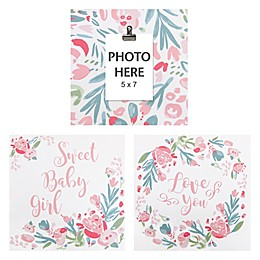Trend Lab® 3-Pack Painterly Floral Wrapped Canvas Wall Art Set