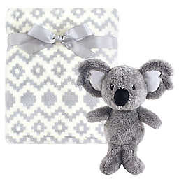 Hudson Baby® Blanket and Toy Set