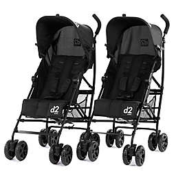 Diono® D2 Lightweight Compact Strollers (Set of 2)