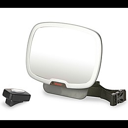 Diono® Easy View Plus™ Rear Facing Mirror in Black/Silver