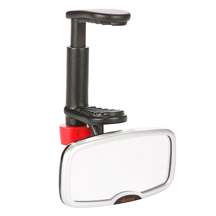 Alternate image 1 for Diono® See Me Too™ Rear Facing Mirror in Black/Silver