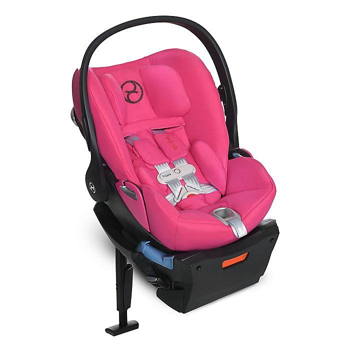Alternate image 1 for CYBEX Platinum Cloud Q SensorSafe™ Infant Car Seat in Passion Pink