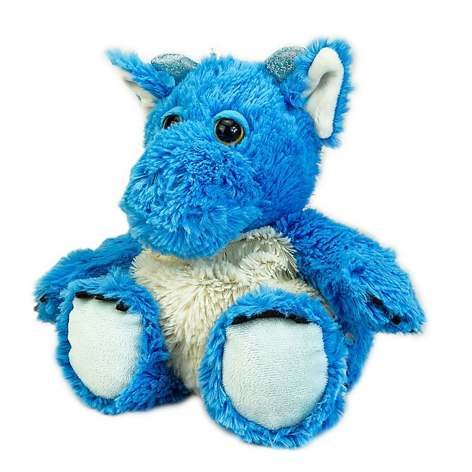 Alternate image 1 for Warmies® Plush Dragon in Blue