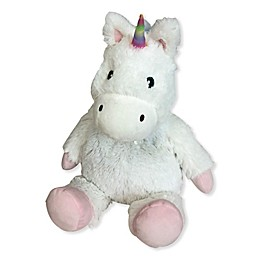 Warmies® Plush Unicorn in White