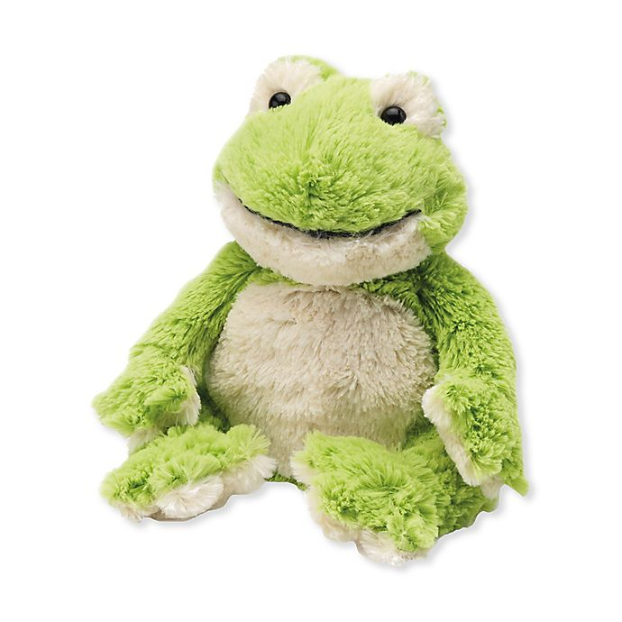 Alternate image 1 for Warmies® Frog Microwaveable Lavender Plush Toy in Green