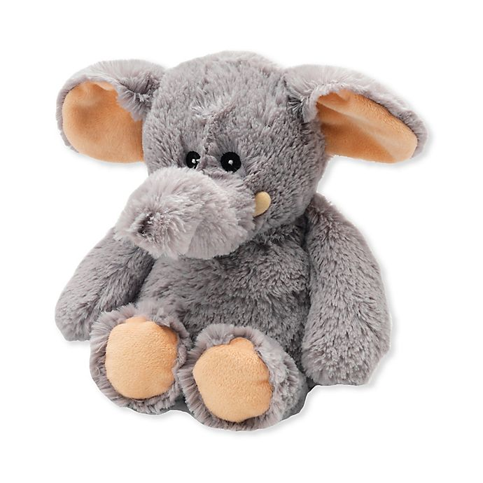 Alternate image 1 for Warmies® Elephant Microwaveable Lavender Plush Toy in Grey