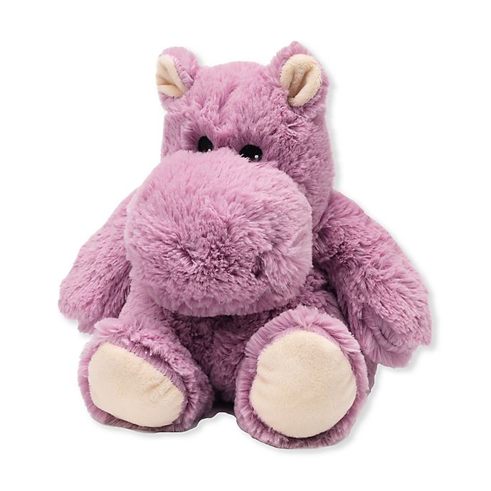 Alternate image 1 for Warmies® Hippo Microwaveable Lavender Plush Toy in Purple