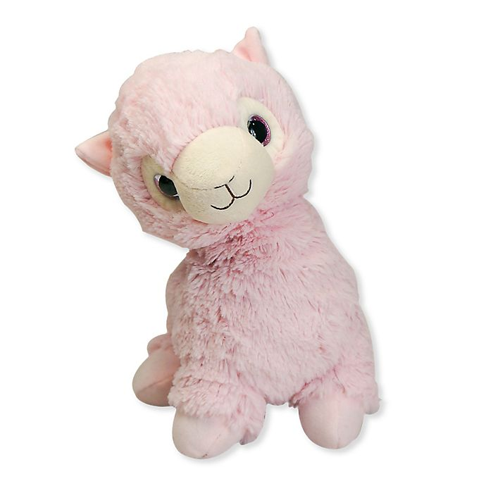 Alternate image 1 for Warmies® Llama Microwaveable Lavender Plush Toy in Pink