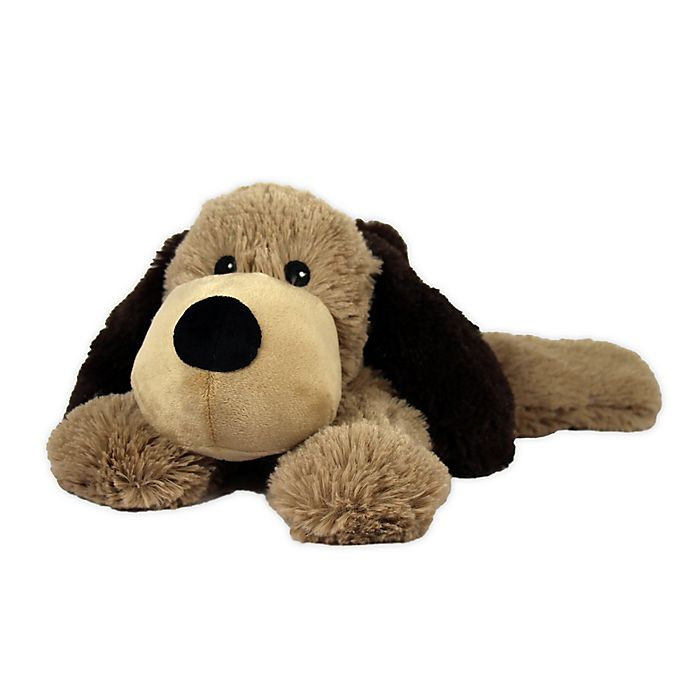 Alternate image 1 for Warmies® Plush Dog in Brown