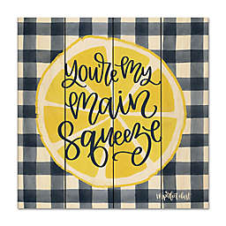 Courtside Market™ Main Squeeze 12-Inch Square Wood Wall Art