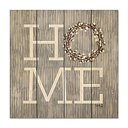 Courtside Market™ Home 12-Inch Square Wood Wall Art