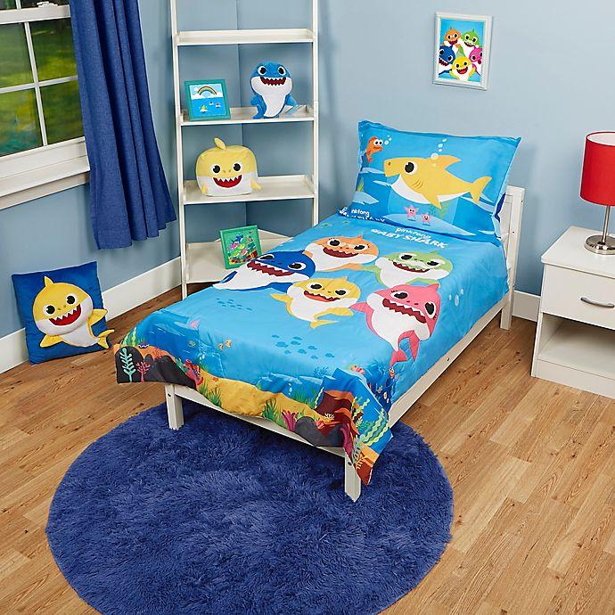 Baby Shark Toddler 4-Piece Bedding Set | Bed Bath & Beyond