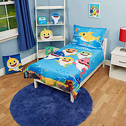 Baby Shark Toddler 4-Piece Bedding Set