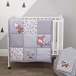 Little Love by NoJo® Lil Fox 3-Piece Mini Crib Bedding Set