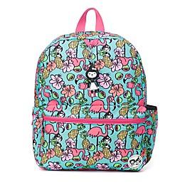 Zip & Zoe® Flamingo Jr. Kids' Backpack in Green