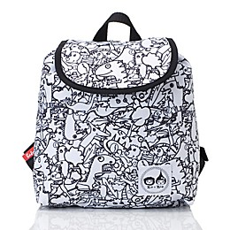 Zip & Zoe® Colour and Wash Dino Backpack in Green