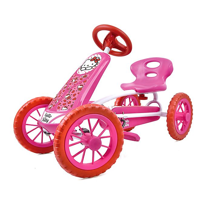 Alternate image 1 for Hauck Hello Kitty Lil'Turbo Pedal Go Kart Ride-On