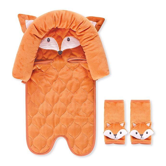 Alternate image 1 for Hudson Baby® Car Seat Insert and Strap Covers in Fox