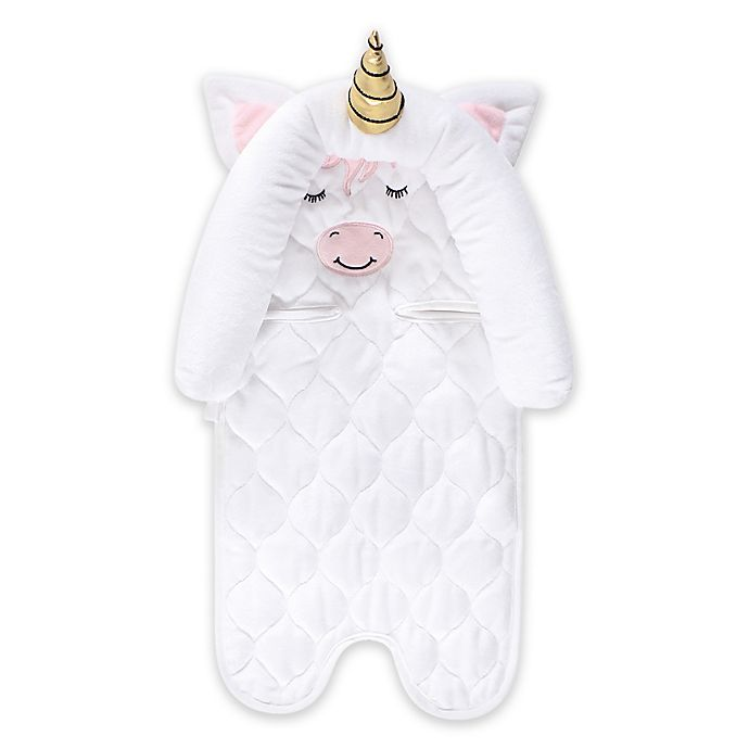 Alternate image 1 for Hudson Baby® Car Seat Insert and Strap Covers in Unicorn