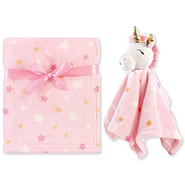 Luvable Friends® Unicorn Plush Security Blanket Set